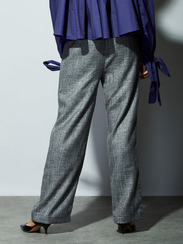 <b>Ghospell</b> Moonwalk Straight Leg Trousers
