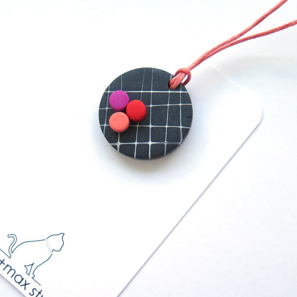 Pop Pendant Necklace small
