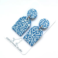 Mega Memphis Blues Earrings - Arch