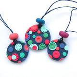 Dots Pendant  Necklace - mid