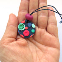 Dots Pendant Necklace - small