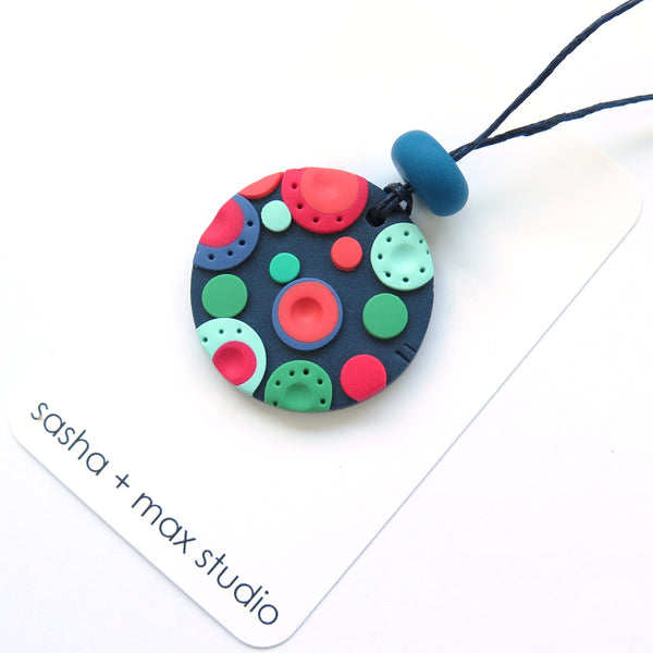Dots Pendant Necklace - large