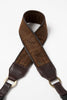 British Plaid in Brown Cashmere - Abie Straps - 1