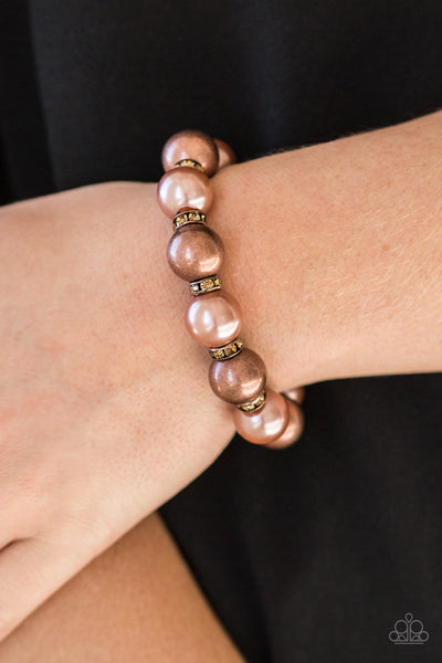 Paparazzi So Not Sorry - Copper Bracelet - A Finishing Touch