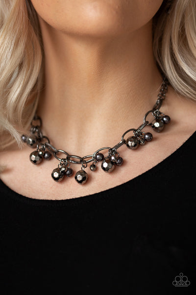 Paparazzi Malibu Movement - Black Necklace