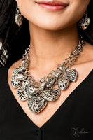 Paparazzi Cherish 2019 Zi Collection Silver Necklace - A Finishing Touch