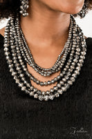 Paparazzi Knockout 2019 Zi Collection Silver Necklace - A Finishing Touch