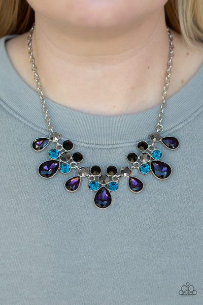 Paparazzi Debutante Drama - Purple Necklace - A Finishing Touch