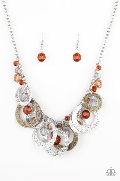 Paparazzi Turn It Up - Multi Necklace