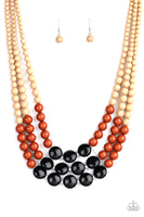 Paparazzi Beach Bauble - Multi Necklace - A Finishing Touch