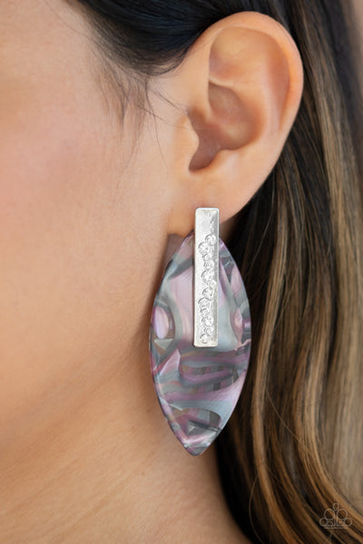 Paparazzi Maven Mantra - Multi Earrings - A Finishing Touch
