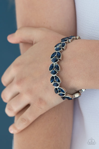 Paparazzi Gilded Gardens - Blue Bracelet - A Finishing Touch Jewelry