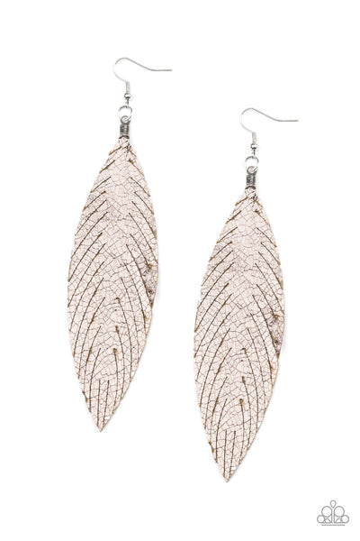 Paparazzi Feather Fantasy - Multi Earrings - A Finishing Touch