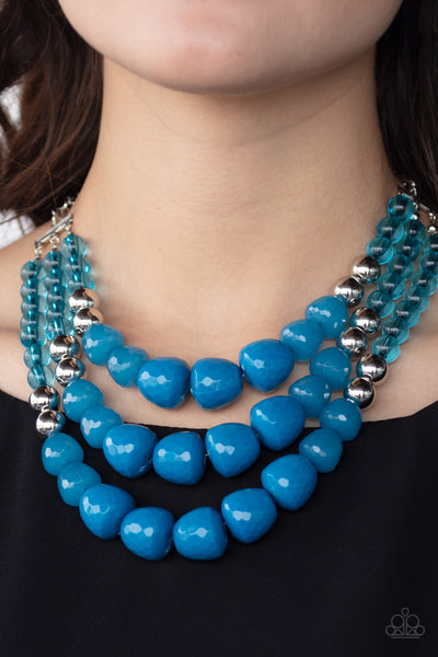 Paparazzi Forbidden Fruit - Blue Necklace