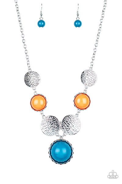 Paparazzi Bohemian Bombshell - Multi Necklace - A Finishing Touch