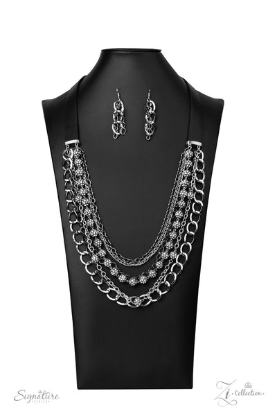 Paparazzi The Arlingto - 2020 Zi Collection Silver Necklace - A Finishing Touch