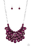 Paparazzi Sorry To Burst Your Bubble - Purple Necklace - A Finishing Touch