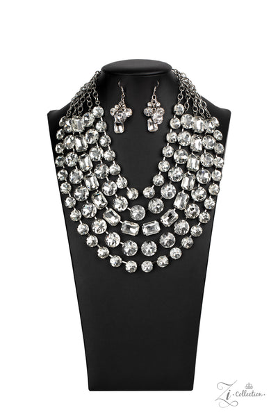 Paparazzi Irresistible 2020 Zi Collection White Necklace - A Finishing Touch