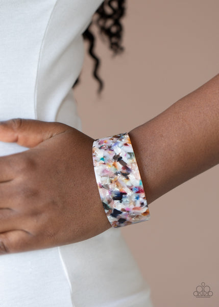 Paparazzi HAUTE Under The Collar - Multi Bracelet - A Finishing Touch