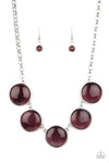 Paparazzi Ethereal Escape - Purple Necklace