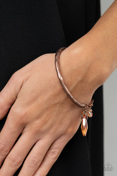 Paparazzi Let Yourself GLOW - Copper Bracelet