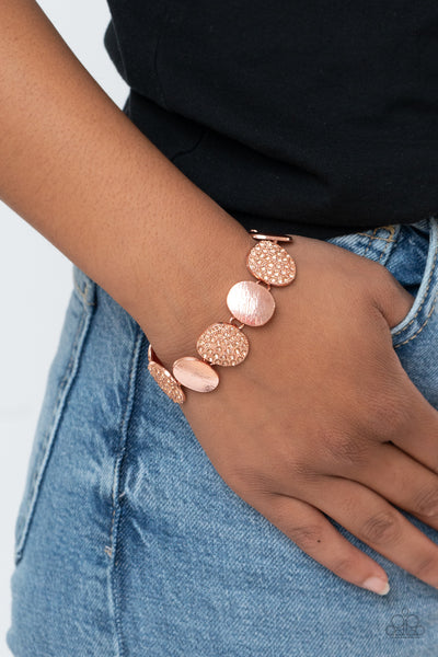 Paparazzi Tough LUXE - Copper Bracelet - A Finishing Touch Jewelry