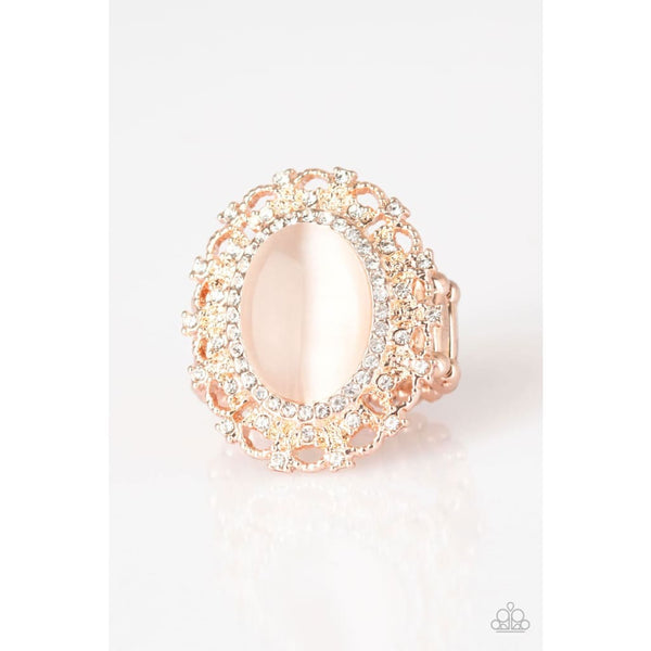 Paparazzi BAROQUE The Spell - Rose Gold Ring - A Finishing Touch