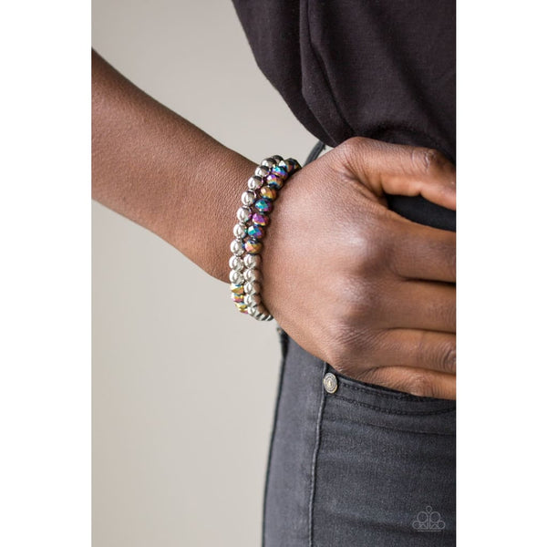 Paparazzi Chroma Color - Multi Bracelet - A Finishing Touch