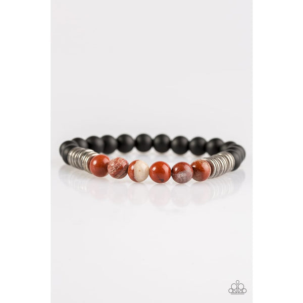 Paparazzi Energetic - Multi- Orange Bracelet - A Finishing Touch