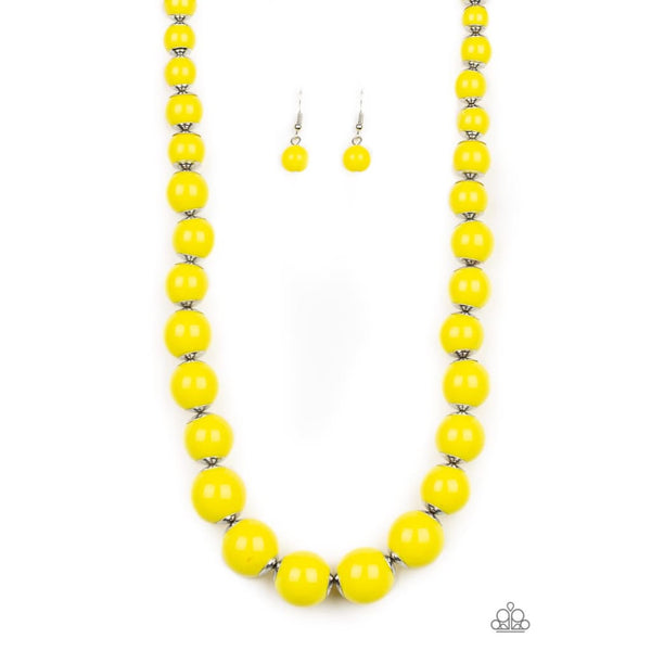 Paparazzi Everyday Eye Candy - Yellow - A Finishing Touch