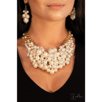 Paparazzi Exec-YOU-tive Pearl Zi Collection Necklace - A Finishing Touch