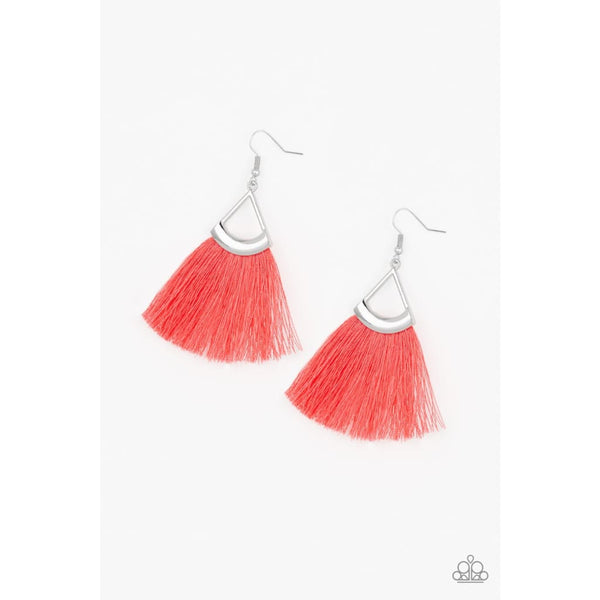 Paparazzi Tassel Tuesdays - Orange/Coral - A Finishing Touch