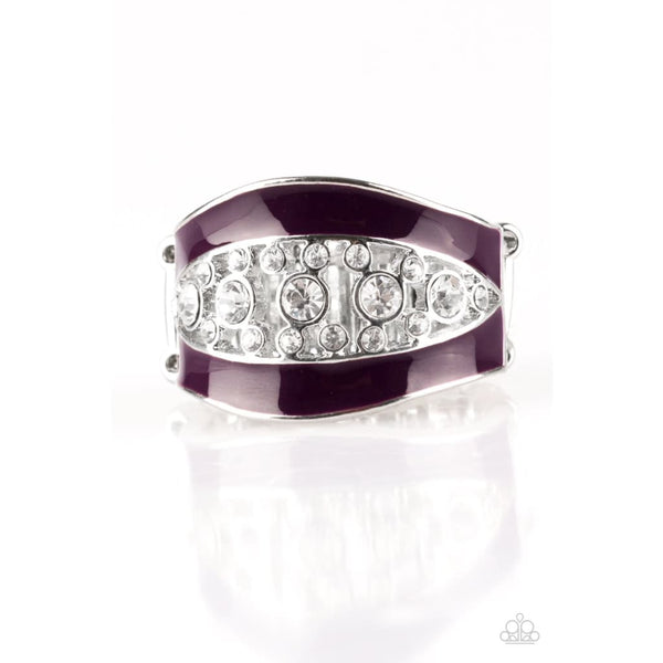 Paparazzi Trending Treasure Purple - A Finishing Touch