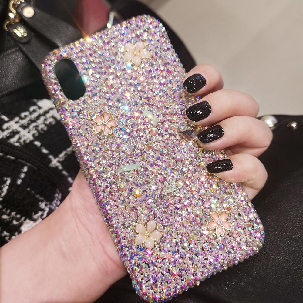 Bling -Shaped Crystal Case For iPhone