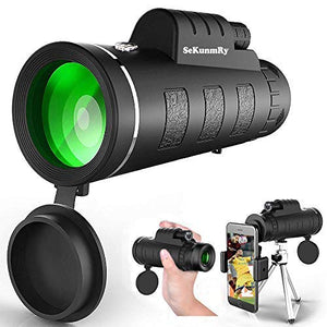 2019 New Waterproof 40X60 High Definition Monocular Telescope