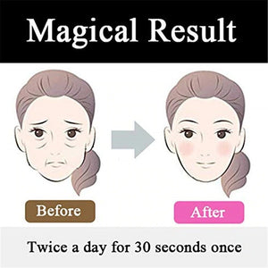 Facial Fitness Muscle Trainer Anti Aging Smooths Lines and Wrinkles