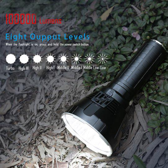 IMALENT MS18 MONSTER LED BRIGHTEST FLASHLIGHT-Limited Buy 3 Get 1 Free!