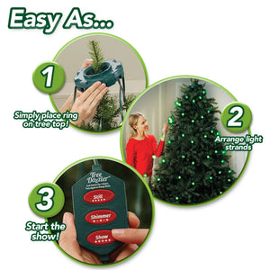 【HOT SALE】64 LED CHRISTMAS TREE LIGHTS TREE DAZZLER -(31 Light Patterns!)