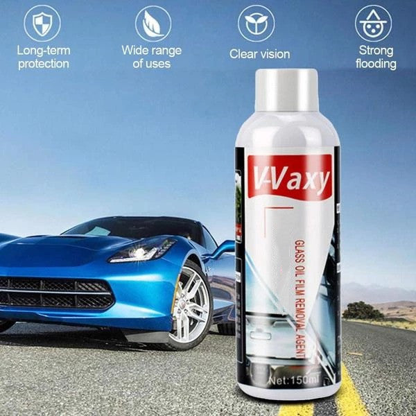 CAR GLASS OIL FILM CLEANING AGENT