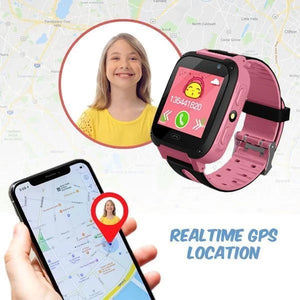 GPS POSITIONING SMART WATCH FOR KIDS - KEEPS KIDS SAFE!