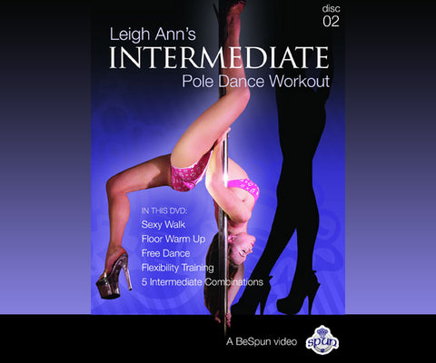 BeSpun - Leigh Ann's Pole Dance DVD - Intermediate