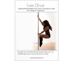 Live Once Pole Dance DVD - Beginner/Intermediate