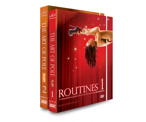 Jamilla Deville-Routines Dance DVD Set