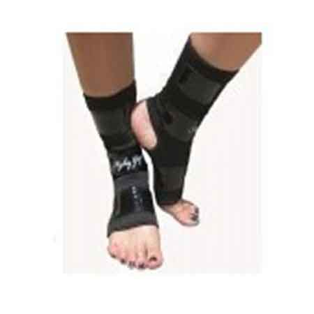 Dance Pole Ankle Protectors with Tack Strips