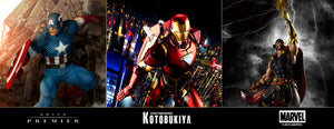 Avengers collectible statues Kotobukiya