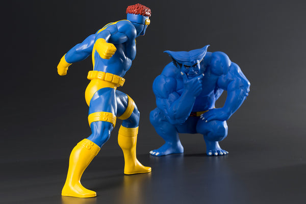 X-Men '92 - Cyclops & Beast ARTFX+ 2 Pack