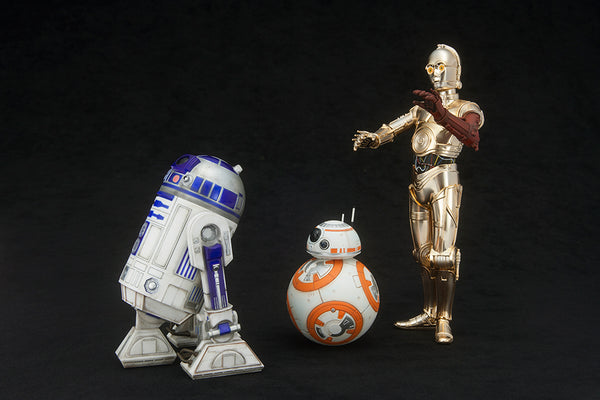 Star Wars - C-3PO & R2-D2 with BB-8