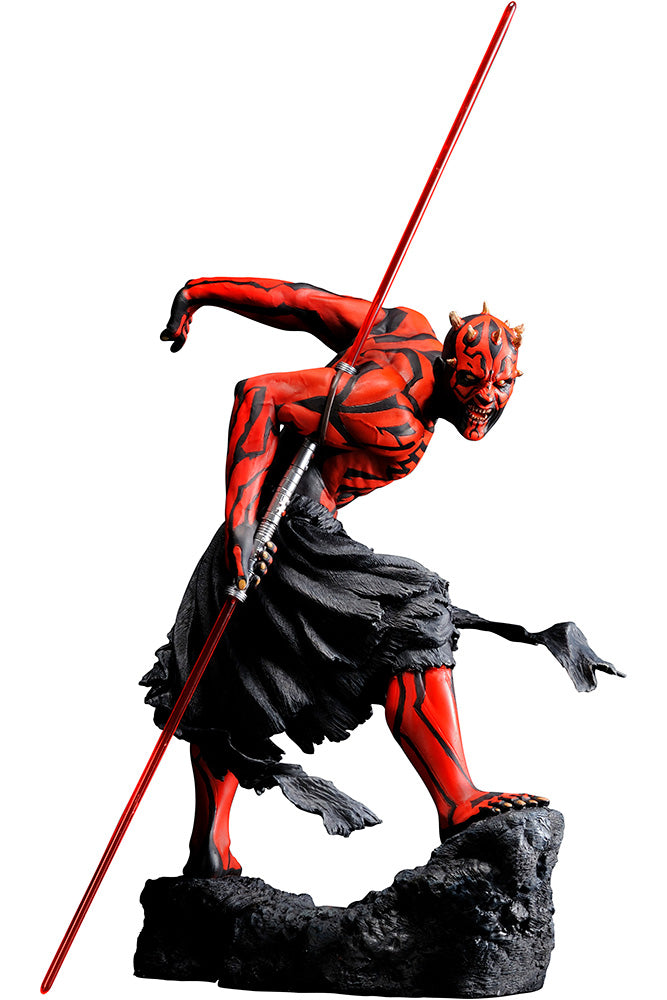 "Star Wars - Darth Maul ""Japanese Ukiyo-e Style"" Reproduction"