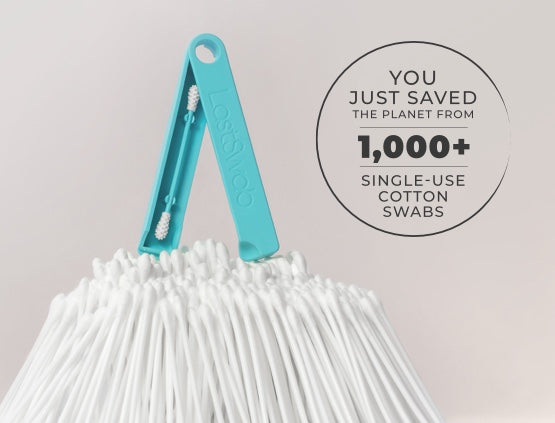 you just saved the planet from 1000 single use cotton swabs