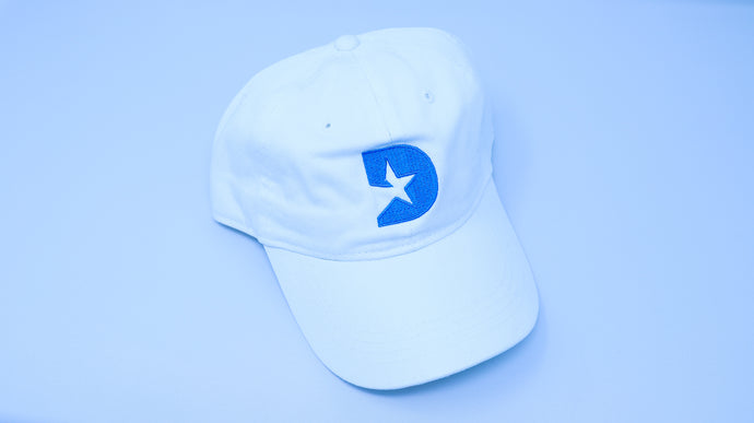 Dallas White Baseball Cap